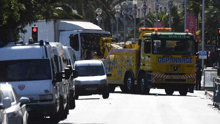 (Le camion de l'attentat de Nice avait été réservé 10 jours avant l'attaque selon l'enquête © AFP/Anne-Christine Poujoulat)