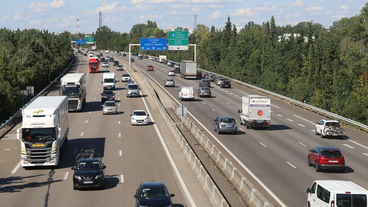 L'autoroute A7 près de Valence, dans la Drôme. (ST?PHANE MARC / MAXPPP)