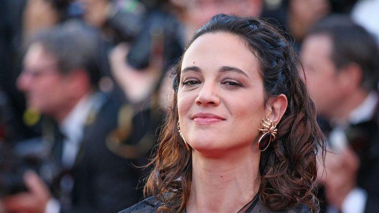 La comédienne italienne Asia Argento à Cannes le 17 mai 2017.  (face to face/Shuttersto/SIPA)