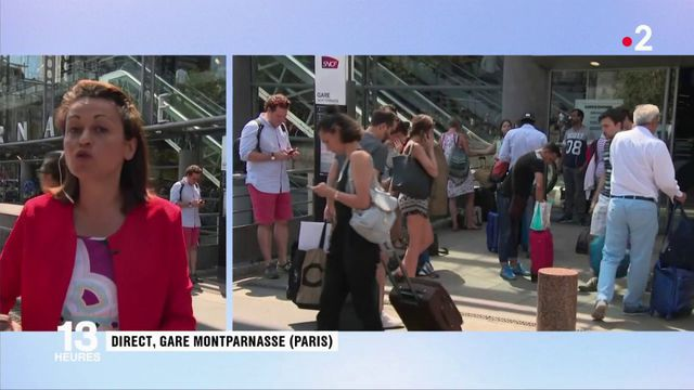Gare Montparnasse : le trafic interrompu