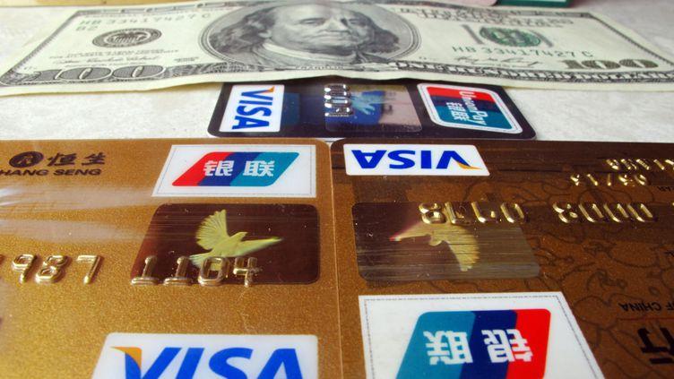 Plus d'un milliard de cartes bancaires Union Pay sont en circulation dans le monde. (CHINAFOTOPRESS / MAXPPP)