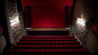 Un théâtre vide, à Nantes, le 14 mars 2021. (LOIC VENANCE / AFP)