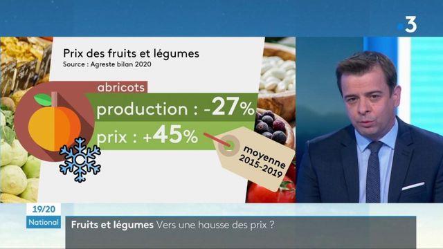 Agriculture : les effets négatifs du froid vont-ils faire augmenter les prix des fruits et légumes ?