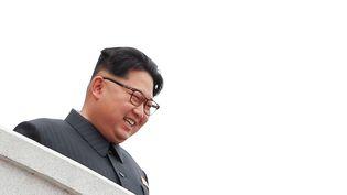 Le leader nord-coréenKim Jong-un, mercredi 28 février, àPyongyang (Corée du Nord). (DAMIR SAGOLJ / X90027)