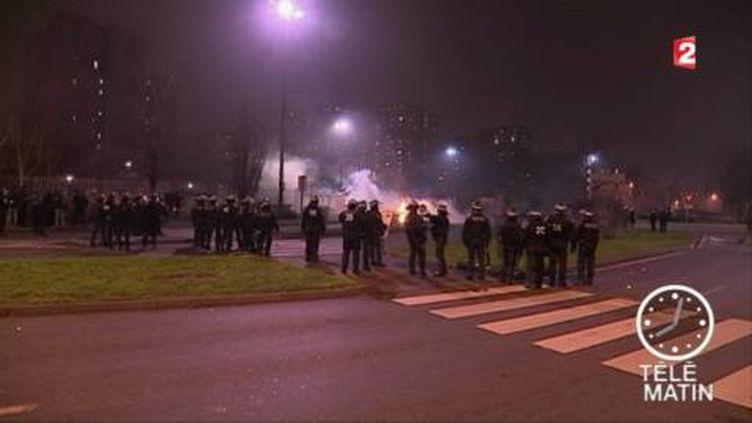 De nouvelles violences ont éclaté à Argenteuil. (FRANCE 2)