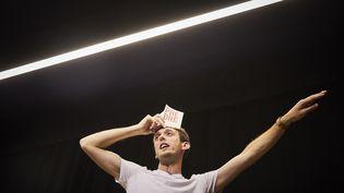 "Romain Daroles dans ""Phèdre!"" (CHRISTOPHE RAYNAUD DE LAGE)"
