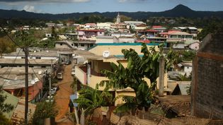 La ville de Tsingoni, à Mayotte, le 14 septembre 2019. (ALI AL-DAHER / AFP)