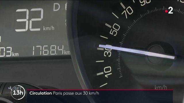 Circulation : interdiction de dépasser les 30 km/h à Paris