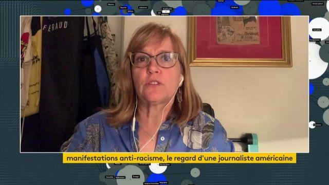 Manifestations contre le racisme : le regard d'une journaliste américaine