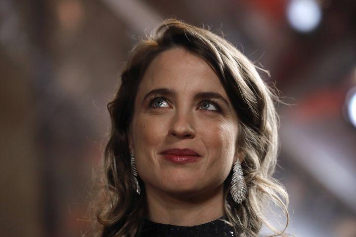 L'actrice Adèle Haenel le 28 février 2020 lors de la 45e cérémonie des César (CHRISTOPHE ENA/AP/SIPA / SIPA)