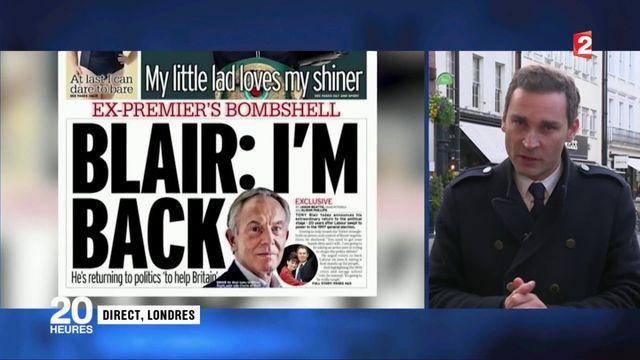 Royaume-Uni : Tony Blair replonge dans l'arène politique pour contrer le Brexit
