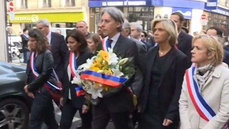 Les élus de Paris rendent hommage à Ronan Gosnet (Capture d'écran France 3)