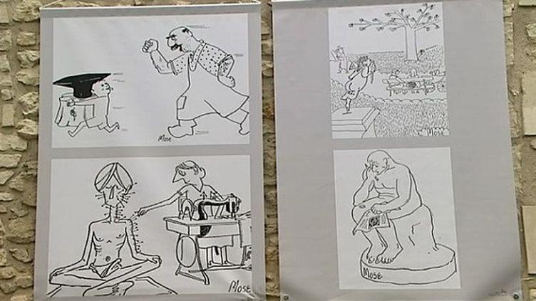 Mose aurait réalisé plus de 5000 dessins.  (France 3 / Culturebox)