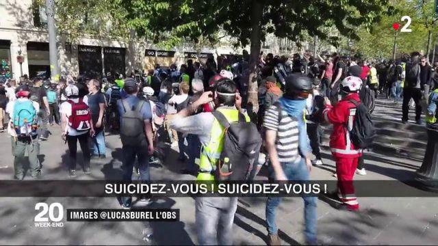 """Suicides de policiers : des """"gilets jaunes"""" font polémique"""