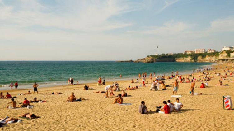 Une plage de Biarritz (Getty Images / Glow Images)