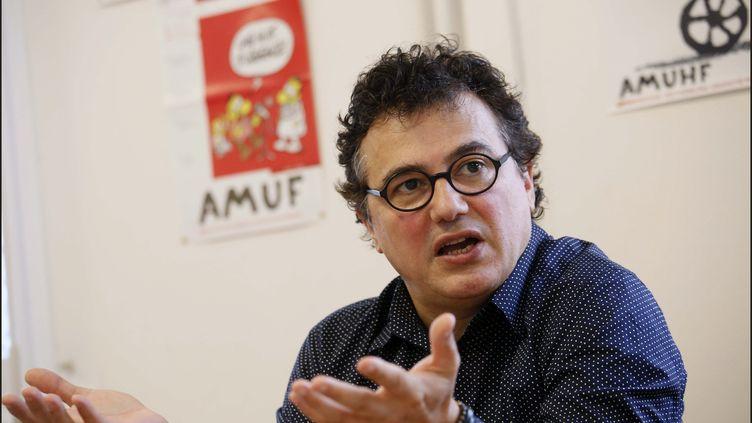 Le médecin urgentiste Patrick Pelloux lors d'une conférence de presse de l'AMUF, le 17 octobre 2017 à Paris. (MAXPPP)