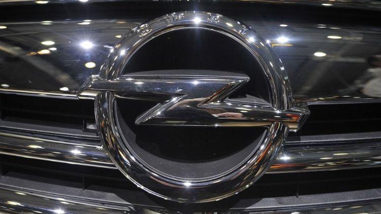 General Motors a annoncé qu'Opel, sa filiale allemande, serait encore en déficit pendant deux ans. (JOHN MACDOUGALL / AFP)