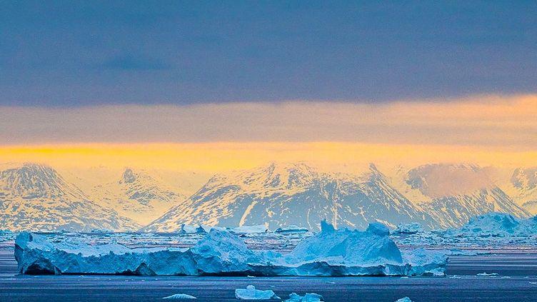 Un iceberg au Groenland (Danemark), le 7 mai 2021. (ULRIK PEDERSEN / NURPHOTO)