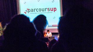 Le salon post-bac à Paris, le 11 janvier 2019. (MAXPPP)