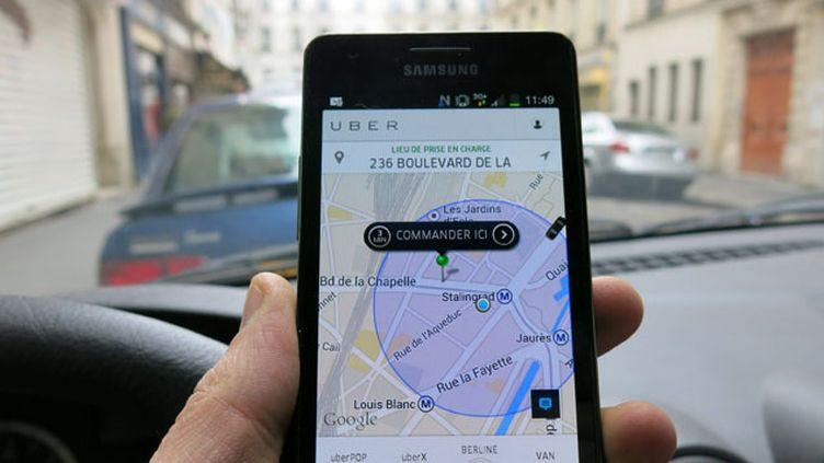 (Uber était aussi poursuivi pour pratique commerciale trompeuse © MaxPPP)