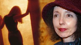 Joyce Carol Oates, écrivain américaine , professeur de littérature à Princeton, membre de l'Académie américaine des Arts et des Lettres  (Jean-Pierre Muller / AFP)