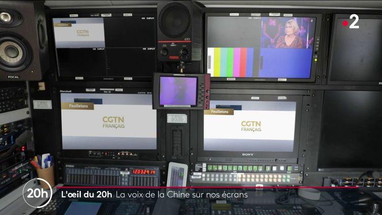 CGTN, la voix de la Chine (FRANCE 2)