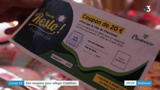Covid-19 : des coupons pour alléger l'addition au restaurant
