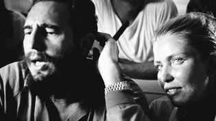 Fidel Castro et Evelyne Pisier  (Editions Les Escales)