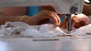 L'entreprise de lingerie Indiscrète, en redressement judiciaire, a obtenu un délai de deux mois pour trouver un repreneur. (ALAIN JOCARD / AFP)