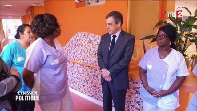 Vif échange entre François Fillon et des personnels hospitaliers