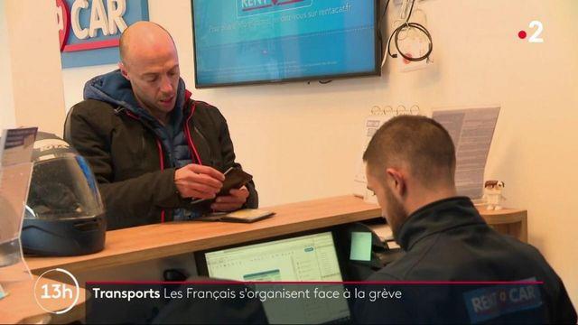 Transports : les Français s'organisent face à la grève
