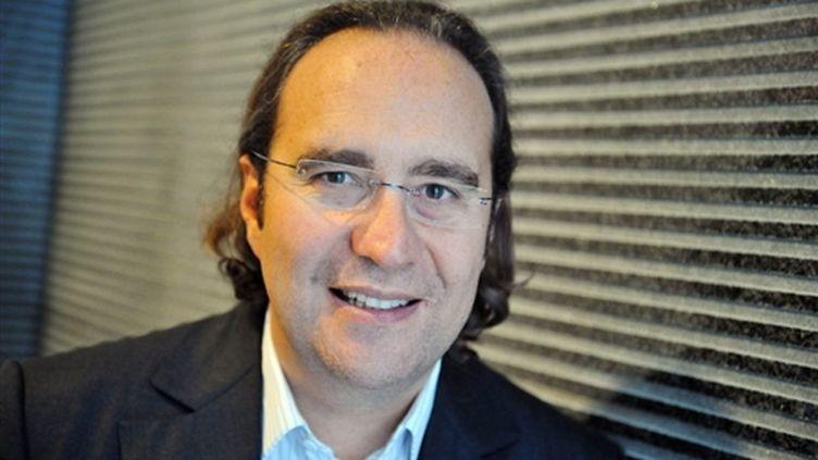 Xavier Niel, patron de Free, en septembre 2009 (AFP/LIONEL BONAVENTURE)