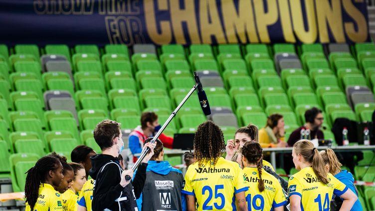 Le Metz Handball en Ligue des champions (GREGA VALANCIC/SPORTIDA/SIPA)