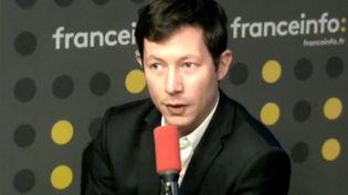 François-Xavier Bellamy, eurodéputé Les Républicains, invité de franceinfo le 30 novembre 2019 (RADIO FRANCE)