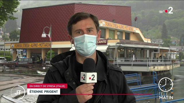 Italie : à Stresa, la chute d'une cabine d'un téléphérique fait 14 morts