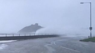 Les premières conséquences de la tempête Ciara ont été observées en Belgique, au Royaume-Uni et même en Allemagne. (France 2)