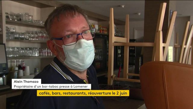 Déconfinement : les restaurants et bars vont rouvrir