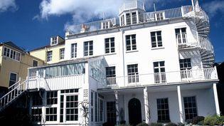 Hauteville House, la maison de Victor Hugo pendant son exil à Guernesey  (ABECASIS/SIPA)