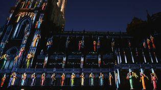 LaCathédrale de Strasbourg, le 3 juillet 2015.  (PATRICK HERTZOG / AFP)