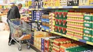 Un magasin hard-discount à Wittenheim, en Alsace, en 2011. (PHOTO PQR / L'ALSACE / MAXPPP)