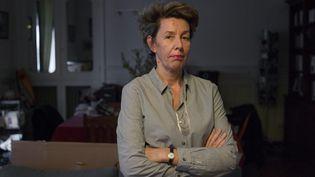 Nadine Ribet-Reinhart, mère d'une victime du 13-Novembre,fait partie du groupe de personnes à avoirformé un recours contre l'État devant le tribunal administratif de Paris. (MATTHIEU DE MARTIGNAC / MAXPPP)