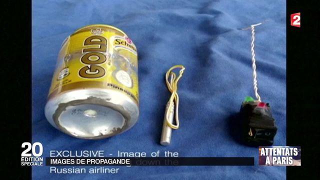 Crash dans le Sinaï : l'État islamique dévoile une photo de la bombe utilisée