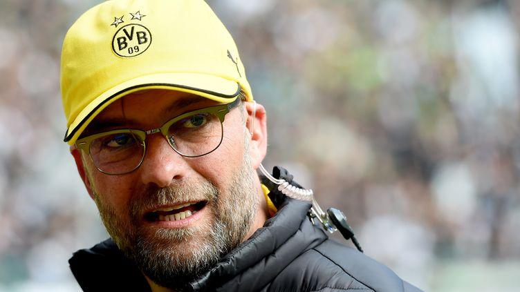 L'entraîneur du Borussia Dortmund, Jurgen Klopp (PATRIK STOLLARZ / AFP)