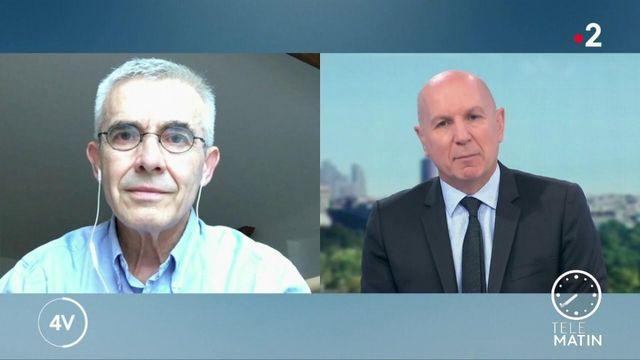 """""""C'est au gouvernement d'assumer la responsabilité de l'obligation du port du masque"""" : Yves Veyrier est l'invité des 4 Vérités"""