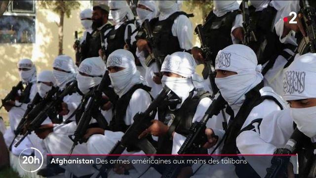 Afghanistan : du matériel de guerre américain aux mains des talibans