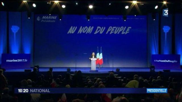 Marine Le Pen drague les jeunes à Bordeaux