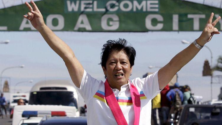 Le sénateur Ferdinand«Bongbong»Marcos, fils du dictateur défunt Ferdinand Marcos, est candidat à la vice-présidence des Philippines. (REUTERS)