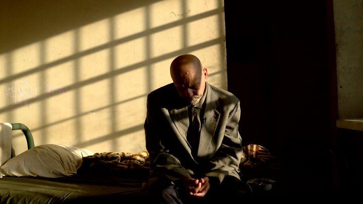 "Une image du film ""The Blue Inmates"" de Zeina Daccache. (KARIM GHORAYEB/CATHARSIS-LCDT)"
