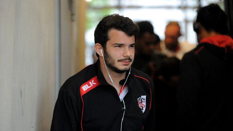 L'ailier du Stade Toulousain, Arthur Bonneval. (JEAN-PIERRE CLATOT / AFP)