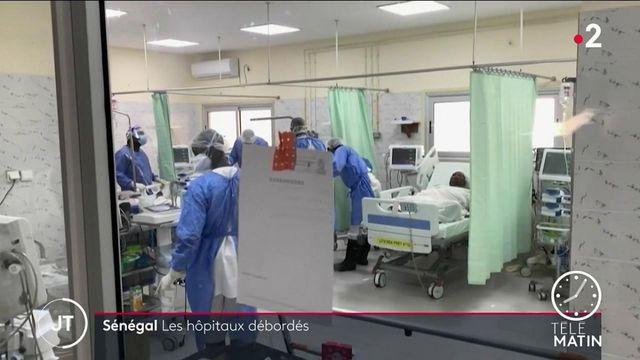 Sénégal : les hôpitaux sont submergés par les patients atteints du Covid-19
